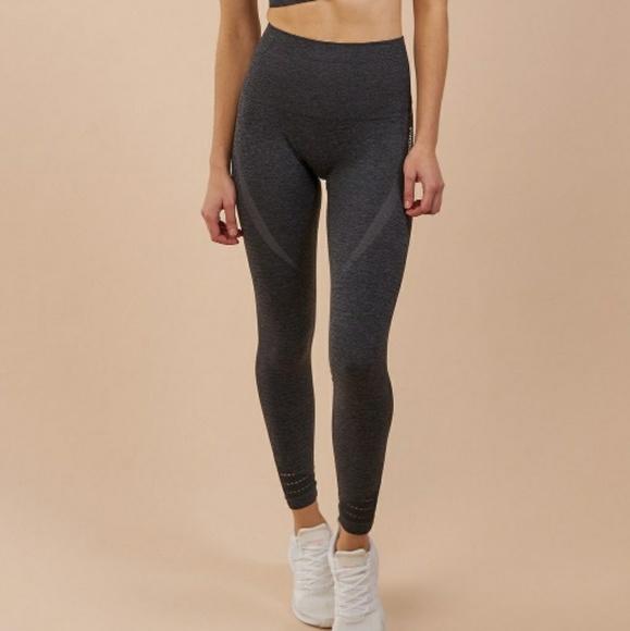 ee08776bcc1a0 Gymshark Pants | High Waisted Seamless Leggings Black Marl | Poshmark